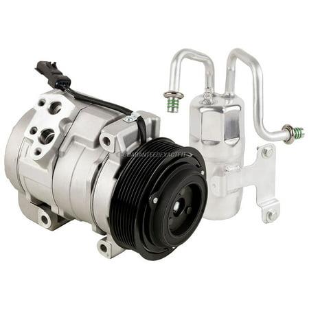 AC Compressor w/ A/C Drier For Dodge Ram 2500 3500 4500 5500 2010