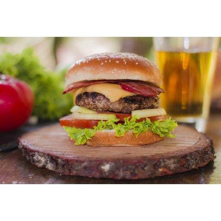 Laminated Poster Restaurant Menu Burgers Food Fast Food Cholesterol Poster Print 24 X 36