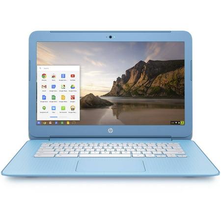 "HP 14-ak060nr 14"" Chromebook Intel Celeron 4GB Memory 16GB eMMC Flash Sky Blue"