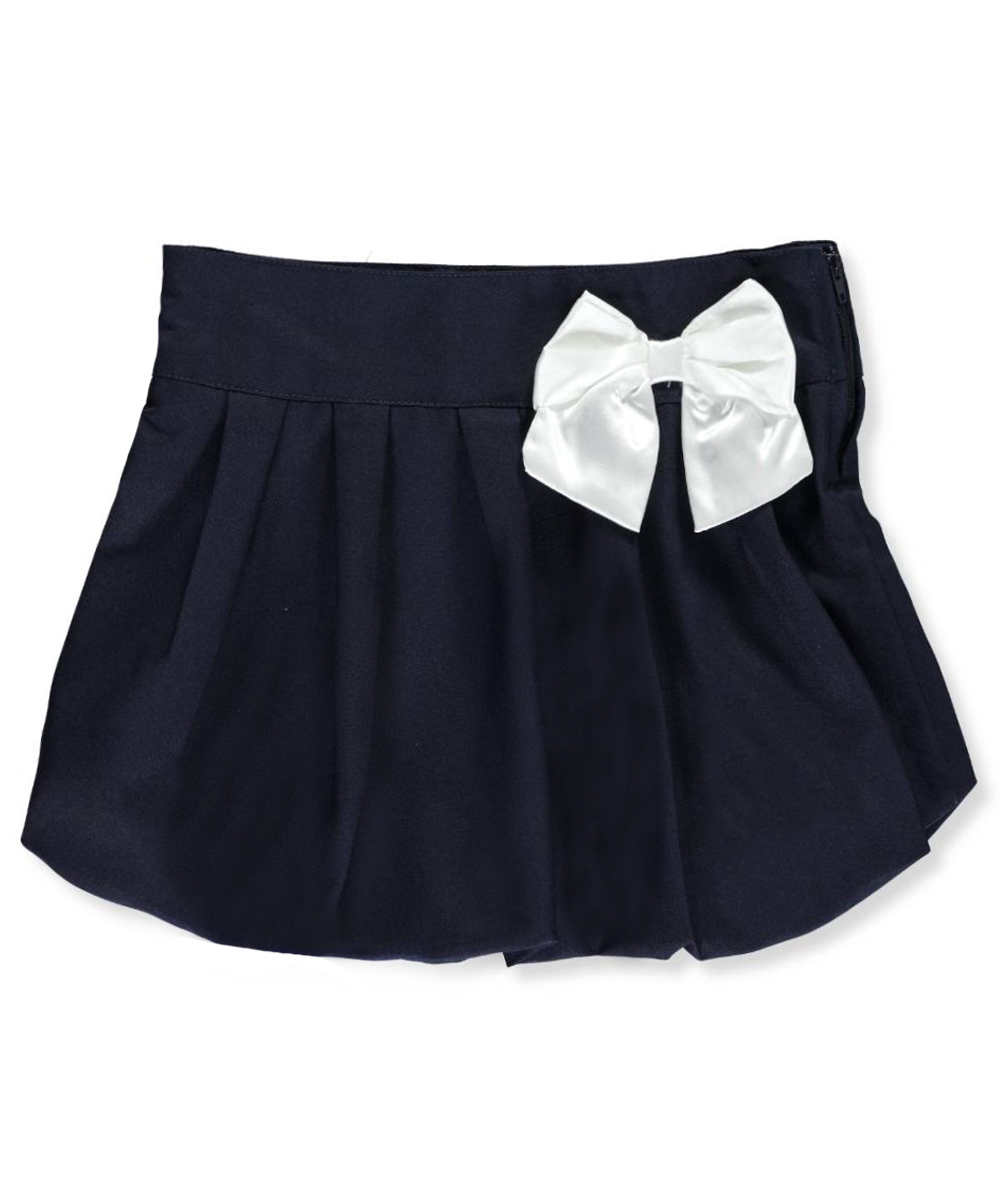 Toddler Girl Uniform Scooter Skirt