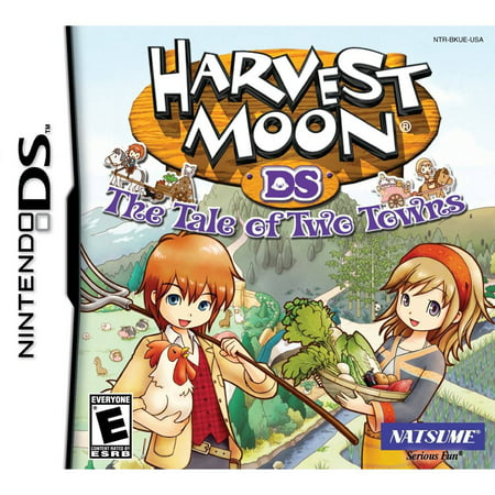 Harvest Moon  Tale Of Two Towns   Nintendo Ds