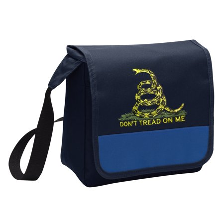 OFFICIAL Don't Tread on Me Lunch Bag Mens or Womens Don't Tread on Me Lunch Box Cooler with Shoulder Strap