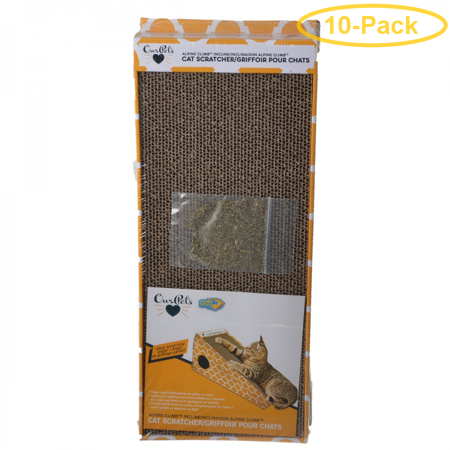 OurPets Alpine Climb Incline Cat Scratcher 1 Count - Pack of