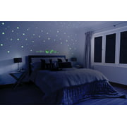 Glow in the Dark Planets for Kids Self Adhesive Stars Glowing Star and Planet Decal for Children's Bedrooms Glow In The Dark Constellation Ceiling and Wall Stickers 122 3D Glowing Stickers
