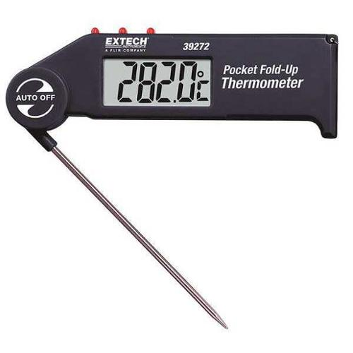 EXTECH 39272 Digital Pocket Thermometer, 4-1/2 In. L
