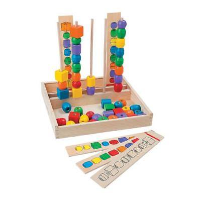 IN-13748282 Melissa and Doug - Bead Sequencing Set  By Fun Express (Melissa And Doug Bead Set)