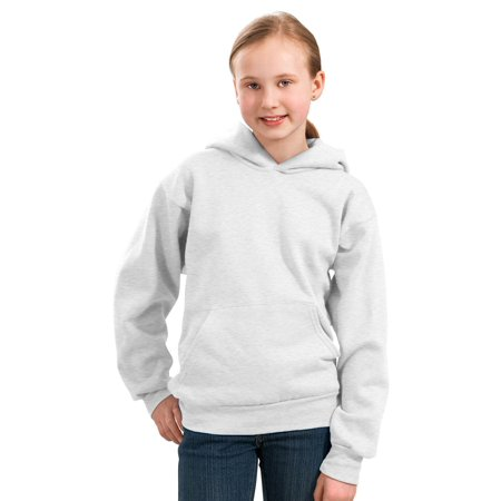 Driver Youth Sweatshirt - Port & Company Youth Pullover Pouch Pocket Sweatshirt