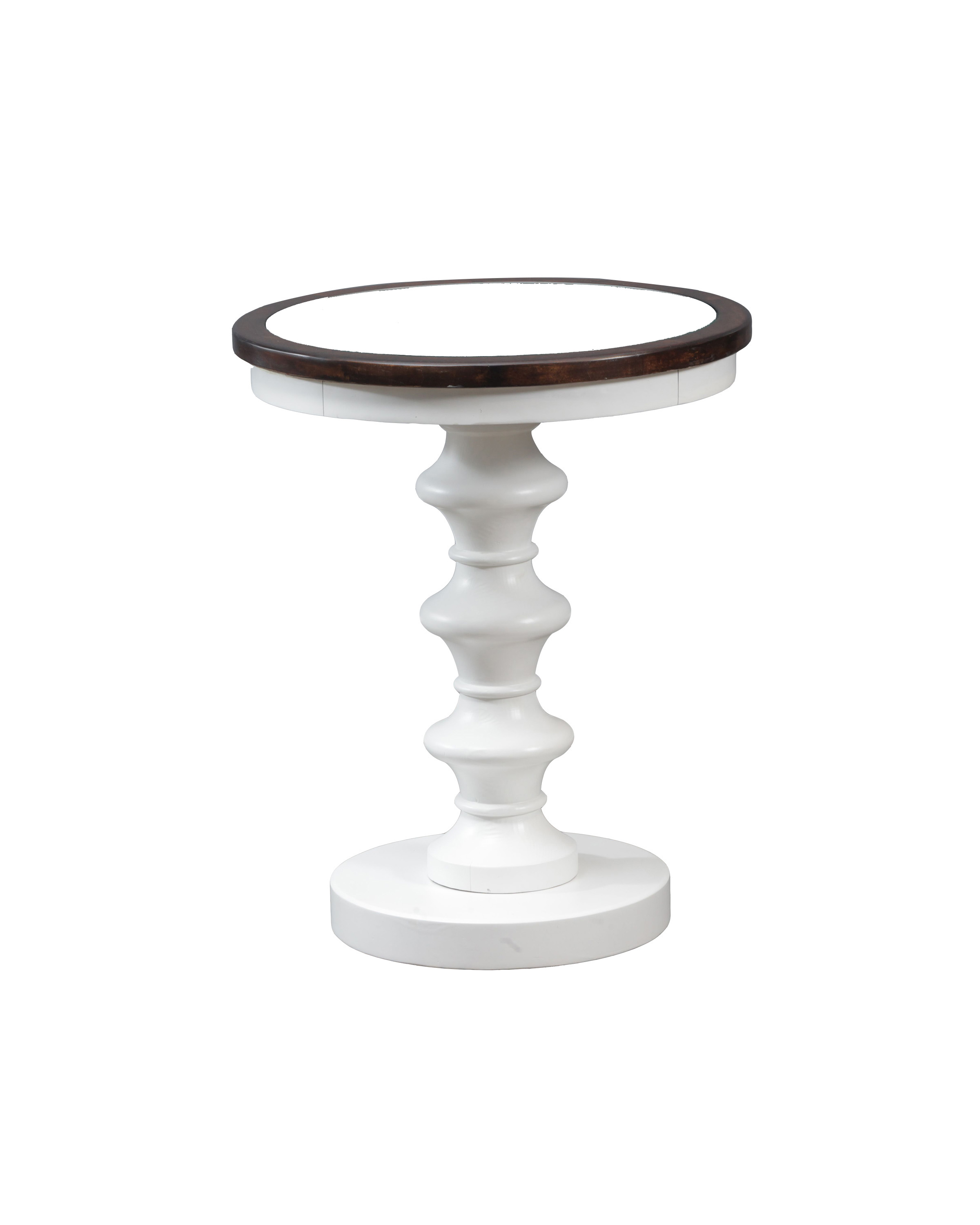 Powell Axel White Accent Table 15A8168W by Powell