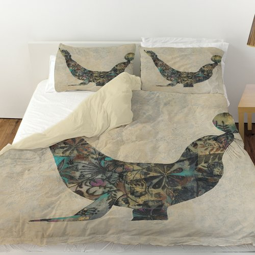 Manual Woodworkers & Weavers Having a Ball Duvet Cover