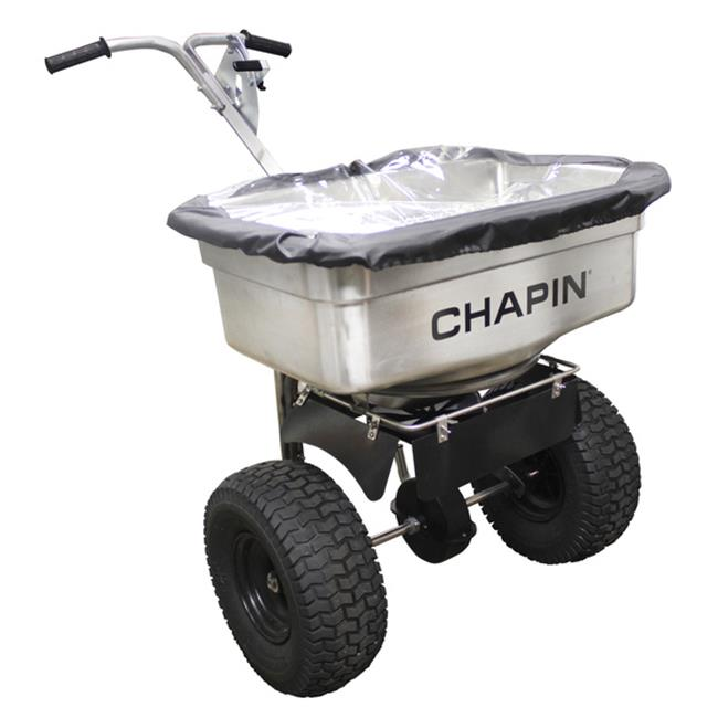 Chapin 82500 Stainless Steel Pro Salt Spreader 100 lb