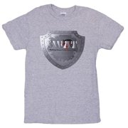 Fox Outdoor 63-616 M Swat Mens T-Shirt, Grey - Medium