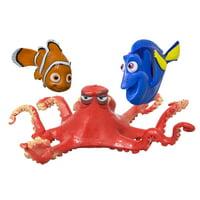 "Swim Way Set of 3 Water Sports Disney Pixar Finding Dory Dive Characters Swimming Pool Game 7"" - Red/Orange"