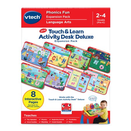 VTech Touch & Learn Activity Desk™ Deluxe Phonics Fun