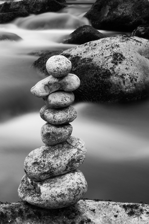 3 dimensions, paper or mat photo paper Poster zen poster ref 20