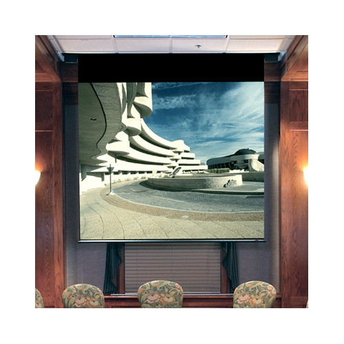 Draper Envoy Matte White Electric Projection Screen
