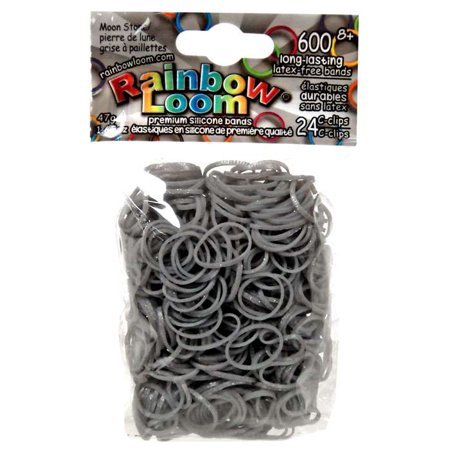 Rainbow Loom Moon Stone Rubber Bands Refill Pack [600 ct]](Rubber Band Looms)