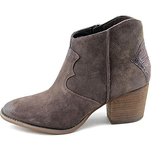 Marc Fisher Stefani Women Round Toe Suede Brown Ankle Boot by Marc Fisher