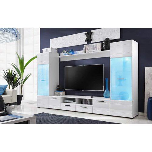 Latitude Run Pledger Entertainment Center for TVs up to 65''