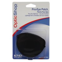 Pro-Eye Patch--Plastic Front Black Eye Patch (1)