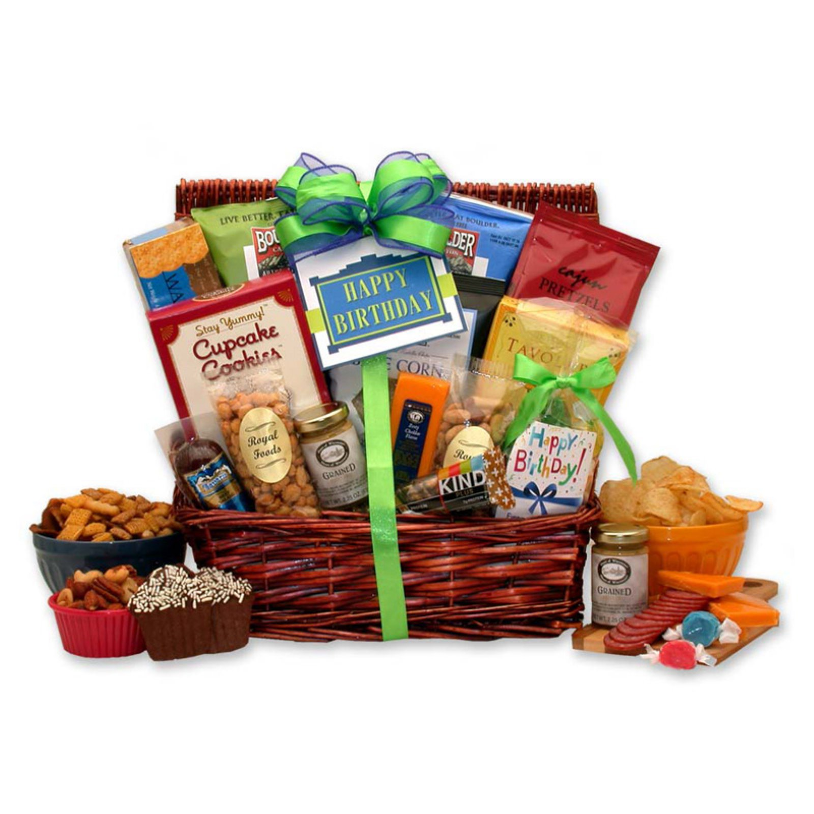 Gift Basket Drop Shipping Surprise Birthday Gift for Him