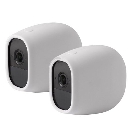 2-pack Outdoor/Indoor Silicone Skins Protective Cover Case for Arlo Pro Netgear Home Smart Security Wireless Camera