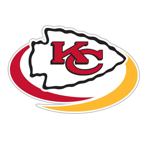NFL Kansas City Chiefs Window Film