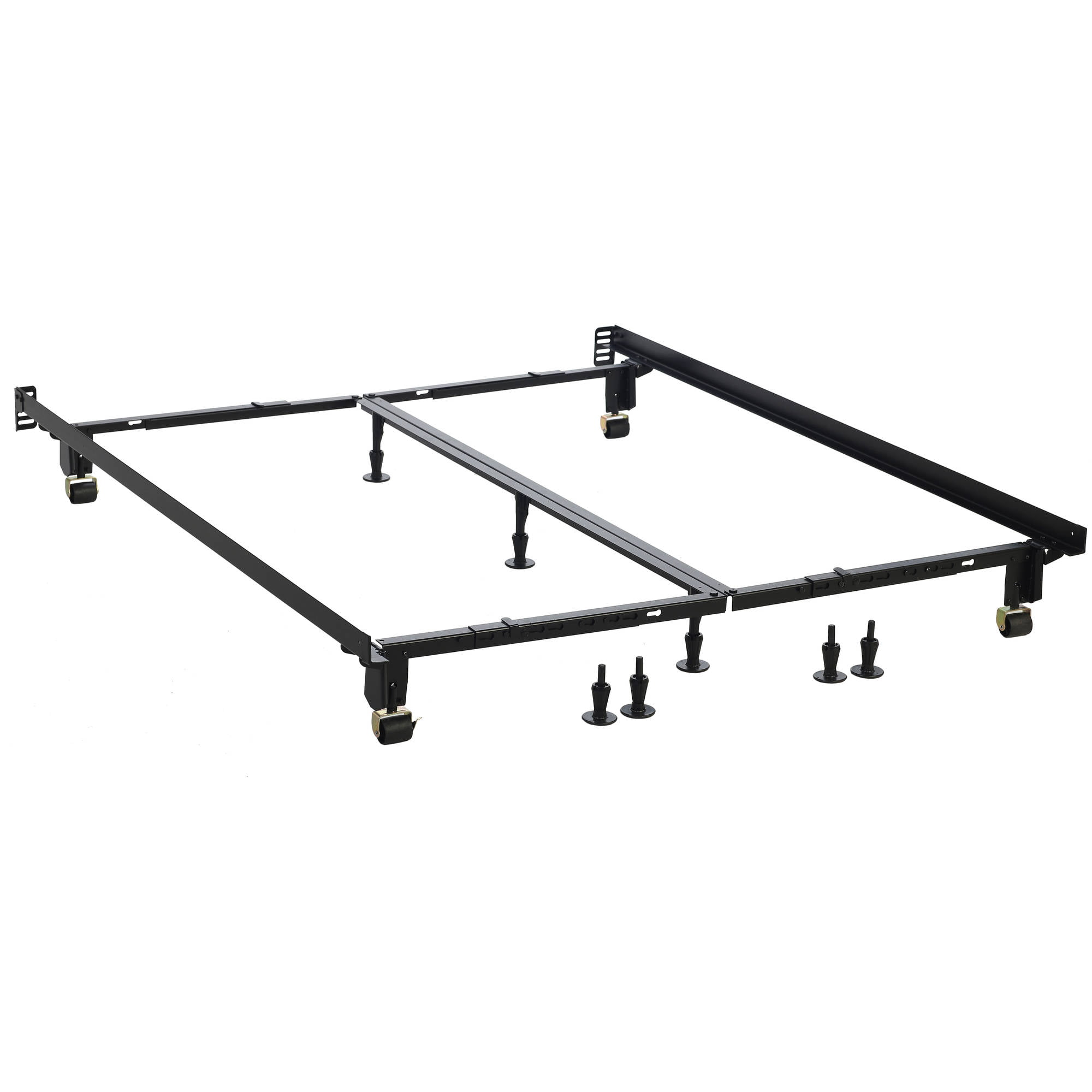 Beautyrest World Class Extra Heavy Duty Adjustable Bed Frame, All Sizes with No Tools Needed by Hollywood Bed & Spring