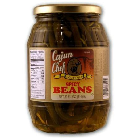 (Cajun Chef Products Cajun Chef Louisiana Beans, 32 oz)