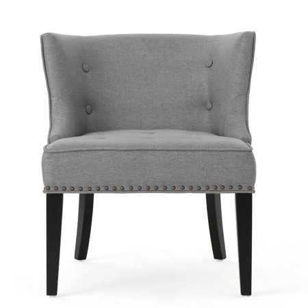 Occasional Chair - Aria Fabric Occasional Chair, Grey