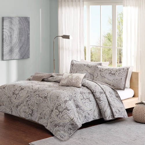 Home Essence Dierdre 4 Piece Cotton Coverlet Set by E&E Co.