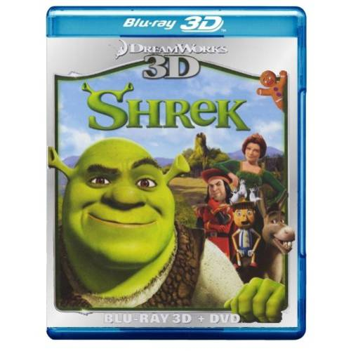 Shrek (3D Blu-Ray   DVD) (Widescreen)