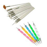 Nail art pen 15pc nail art design dotting brush painting pen tool set diy fit tips beauty fashion manicure prinsesfo Image collections