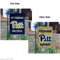 """Pittsburgh Panthers 13"""" x 18"""" College Garden Flag"""