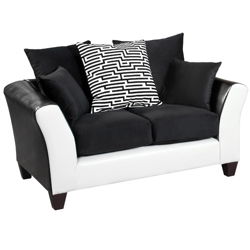 Latitude Run Dilorenzo Modern Implosion Loveseat