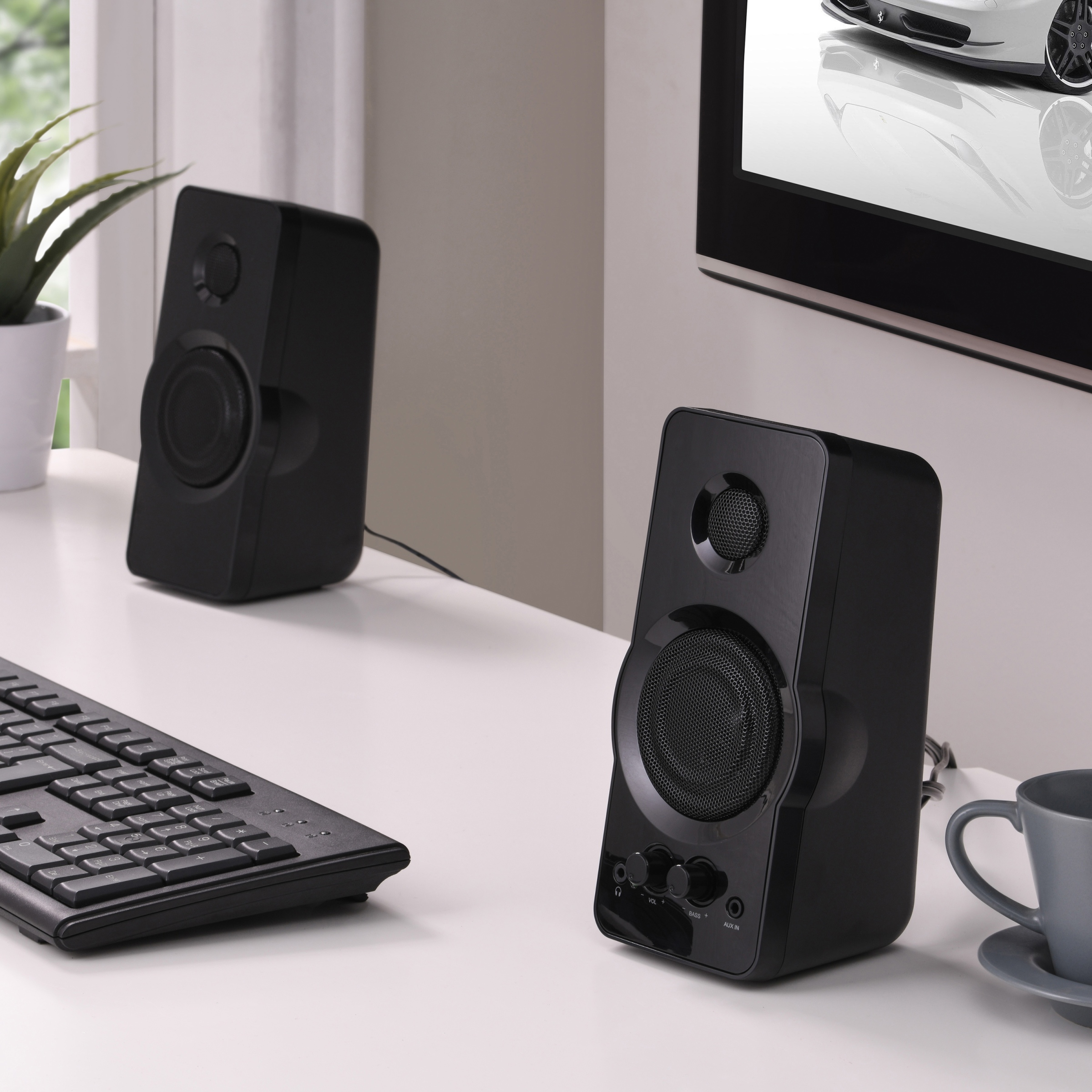 Blackweb Multimedia Computer Speaker - Walmart com