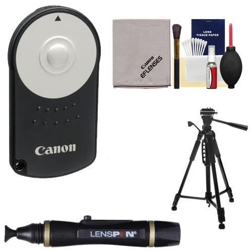 Canon RC-6 Wireless Remote Shutter Release Controller + Tripod + Accessory Kit for Rebel SL1, T3i, T4i, T5i,... by Canon