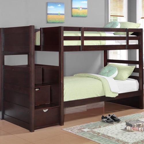 Wildon Home  Ryan Twin Bunk Bed