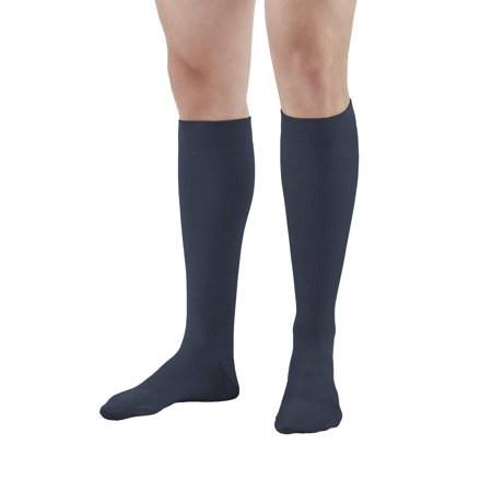 Ames Walker AW Style 132 Cotton 15-20mmHg Moderate Compression Knee High Socks man XLarge - Relieves tired aching and swollen legs - Symptoms of varicose veins - Graduated compression
