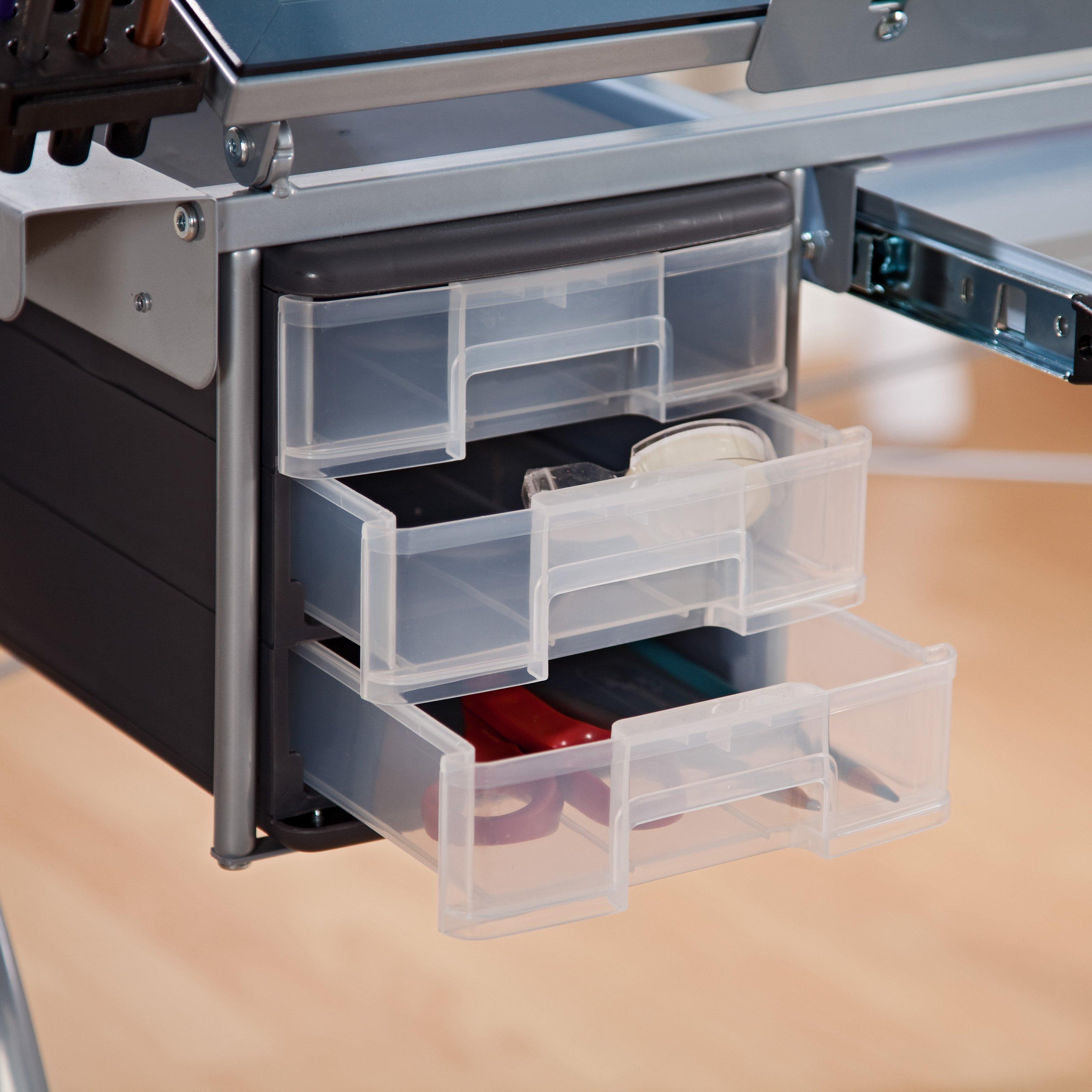 Studio designs futura craft station with glass top - Studio Designs Futura Craft Station With Glass Top 59