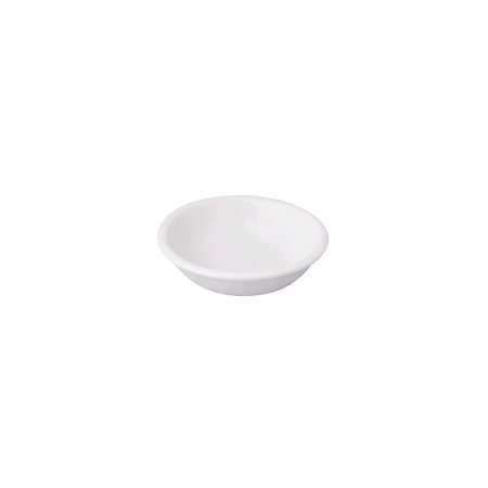 Front Of The House DSD019WHP23 White 3.5 Ounce Round Dish -