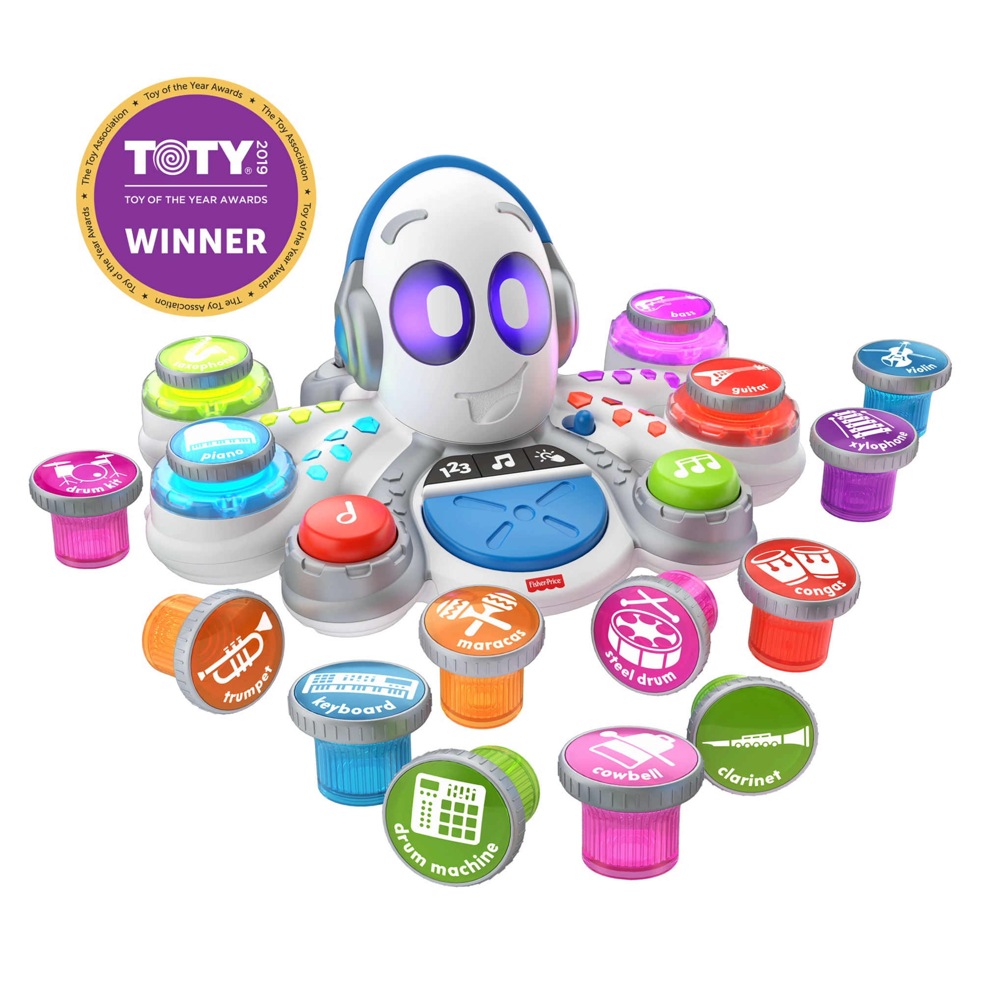 Fisher-Price Think & Learn Rocktopus, Interactive Preschool Toy