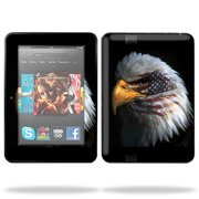 "Skin Decal Wrap for Kindle Fire HD 7"" inch Tablet cover American Pride"