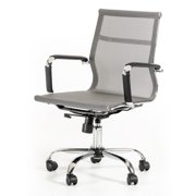 Modrest Julia Mid Back Office Chair - Gray