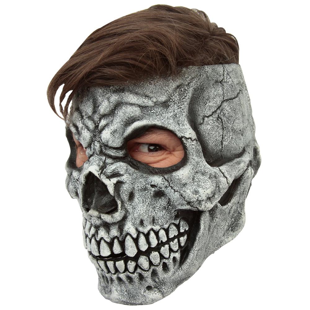 Adult Customizable Hairstyle Skull Mask