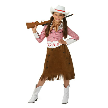 Girls Rodeo Cowgirl Costume (Cowgirl Dresses)