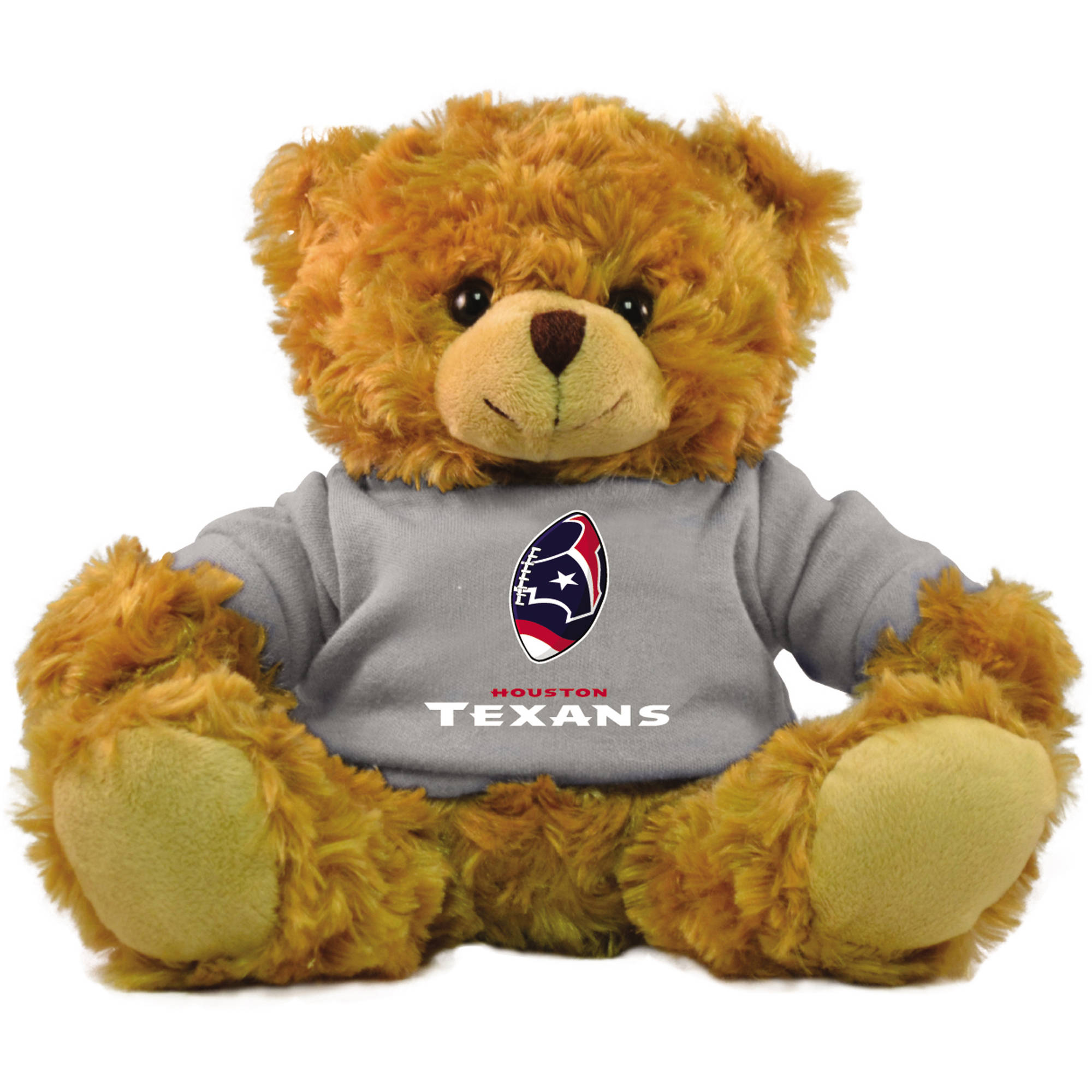 "Bleacher Creatures NFL 9"" Rally Men Hoodie Bear, Houston Texans by Bleacher Creatures"