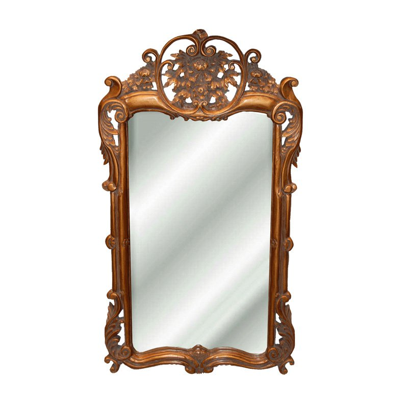 Hickory Manor House Flourishing Arch Wall Mirror - 21.5W x 38H in.