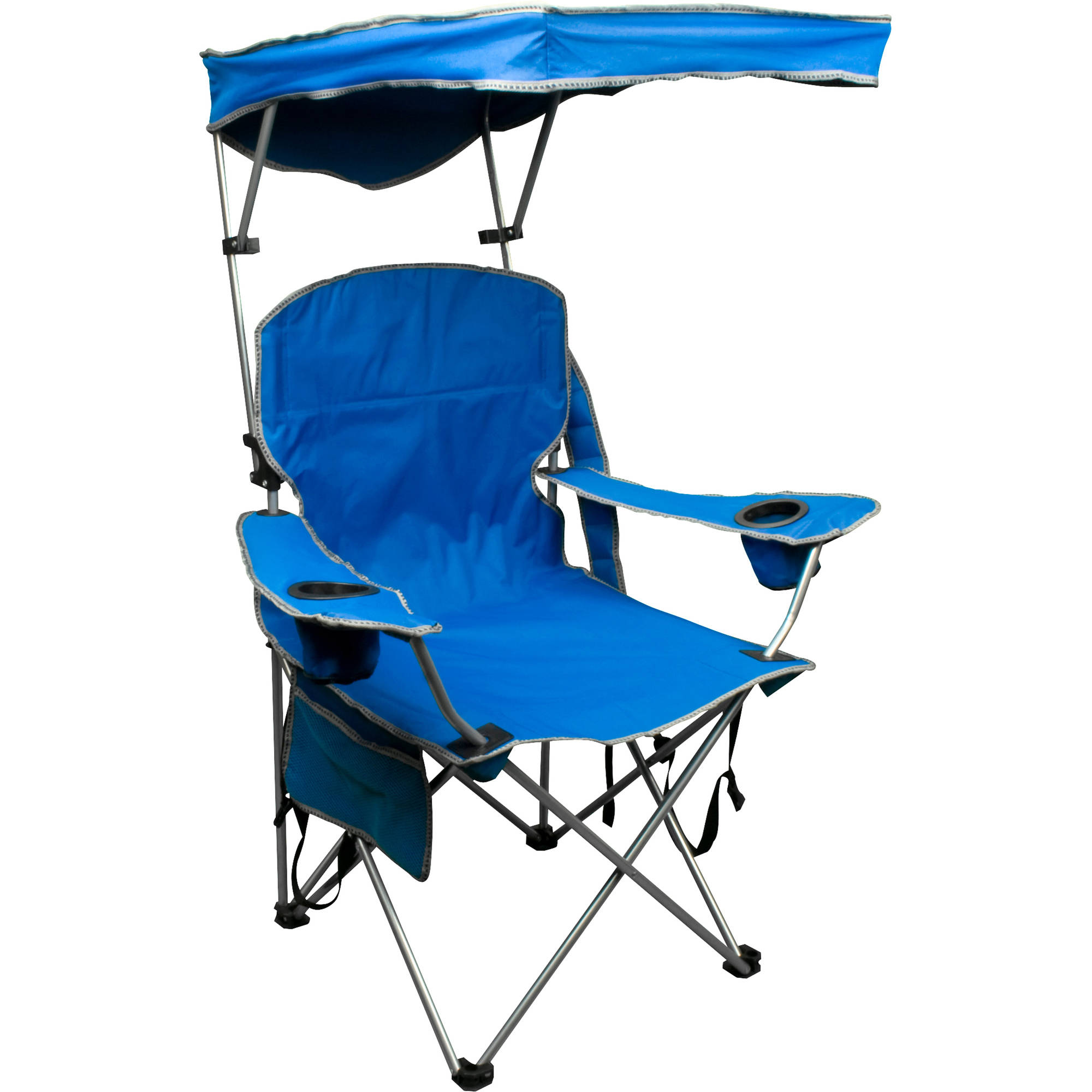 Quik Shade Adjustable Canopy Folding Camp Chair by Variflex Inc.