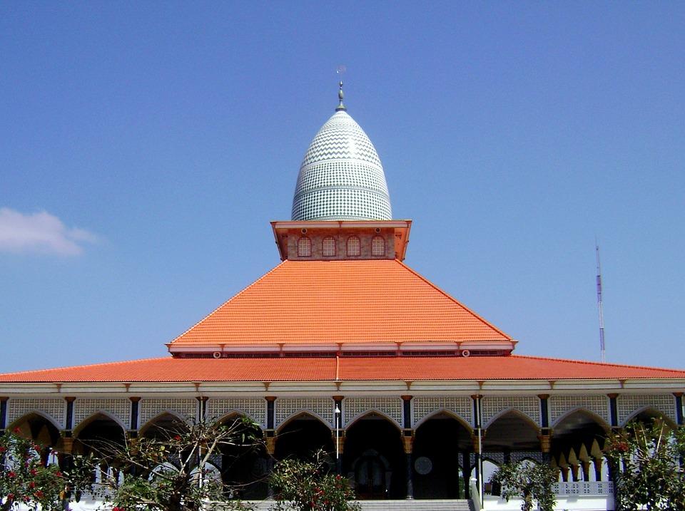 Canvas print jawa timur masjid indonesia malang gondanglegi