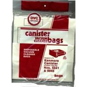 Package of 3 Replacement Kenmore bags for Canister Models 5041,